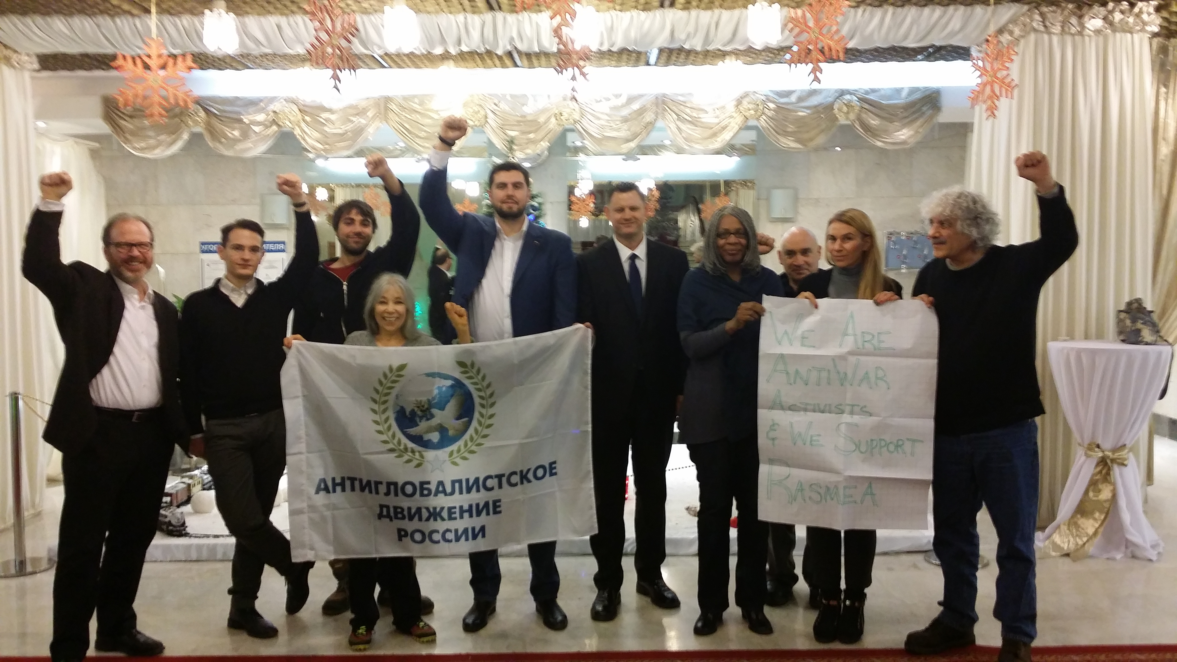 UNAC published a report on their trip to Russia
