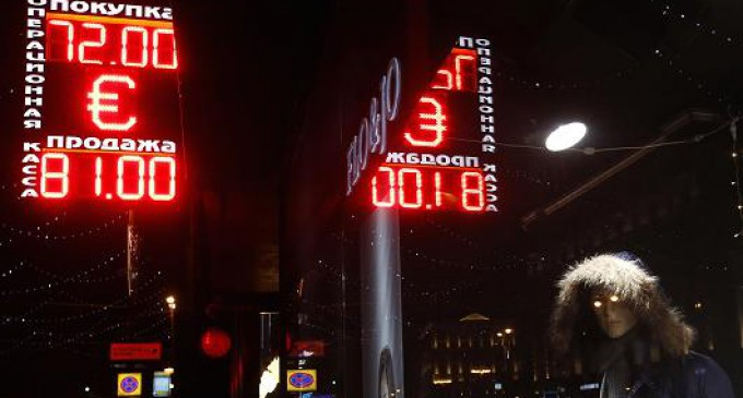 From Energy War to Currency War: America's Attack on the Russian Ruble