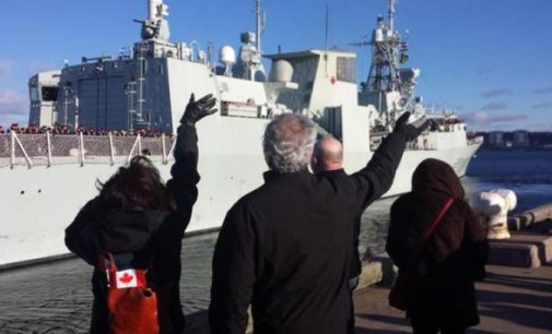 Canadian warship sails into Ukrainian powder keg for WWIII