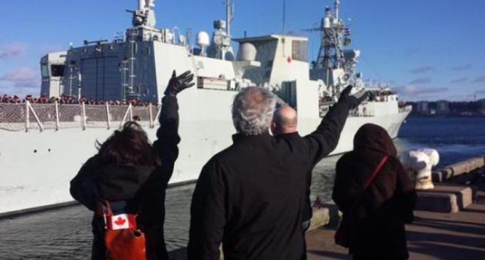Canadian warship sails into Ukrainian powder keg for WWIII
