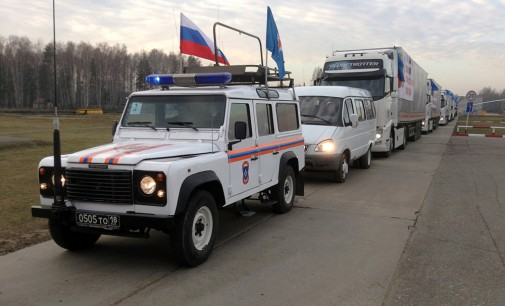 International students send aid to Donbass; oppose Kiev and U.S.-backed war