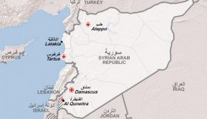 Syria-Map-Golan-Heights