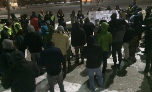 Salt Lake City protests police brutality on New Year's Eve