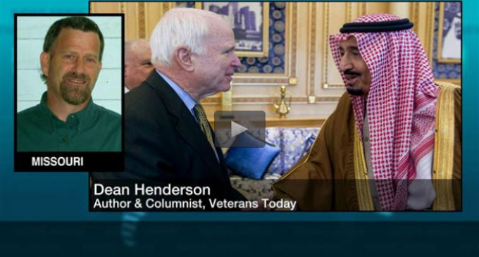 "D.Henderson: ""US war against ISIL is 'total fraud' to create a CIA base"""