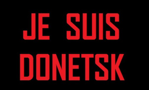 """Je Suis Donetsk"": Ukraine Army Attacks Bus and Trolley in Center of Donetsk. 13 Killed including Children"