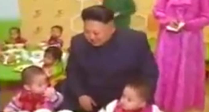 Руководитель Ким Чен Ын в Пхеньянском доме ребенка и детдоме-саду