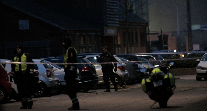 Центр Копенгагена оцеплен полицией из-за нападения на кафе и синагогу