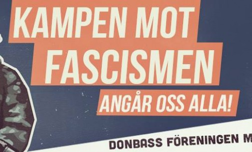 Sweden protest against Nazis of Ukraine