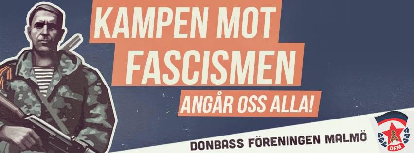Шведы протестуют против нацистов Украины