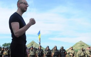 "Prime-minister Arseniy ""Yats"" Yatsenyuk stands behind most of escalating moves made by the Kiev regime."