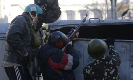 BBC airs Maidan guerilla firing on police in Kiev