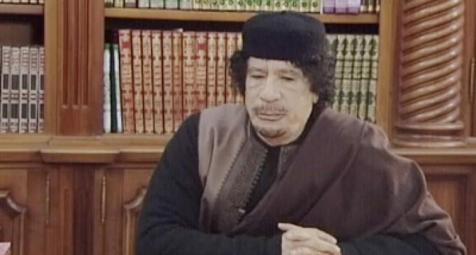 В гостях у Каддафи