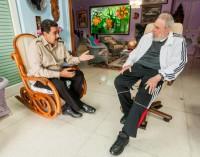 Президент Венесуэлы посетил Фиделя Кастро