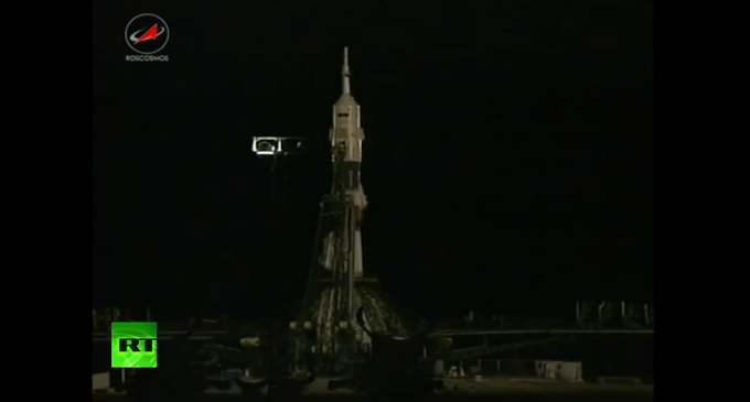 Корабль «Союз» с членами 43/44-й космической экспедиции на борту стартовал к МКС