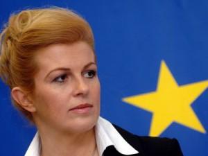 Zagreb,23.03.2007 (novosti) -  Kolinda Grabar-Kitarovic , 50 godina EU-a.  foto Davor Kovacevic