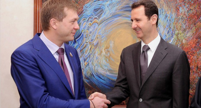 Дмитрий Саблин: Запад готовил общий сценарий для Сирии и Украины