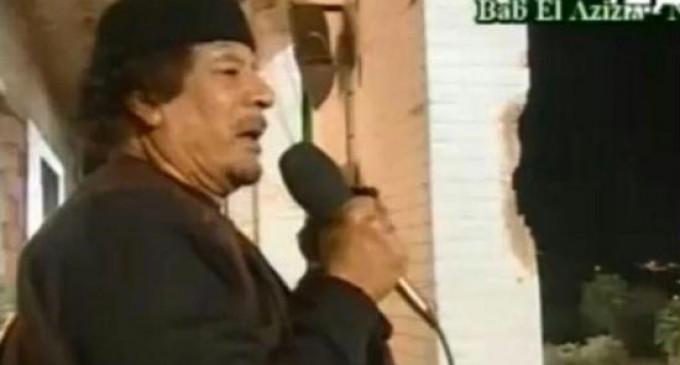 «Не тебя бомбят, а всего лишь какую-то Ливию»