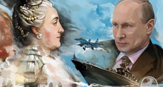Антимайдан представляет выставку «Крым. Возвращение в родную гавань»