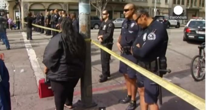 Лос-Анджелес: полицейские убили «Африку»