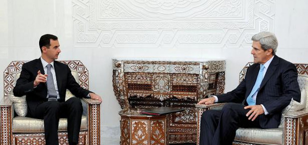 Керри признал необходимость переговоров с Асадом