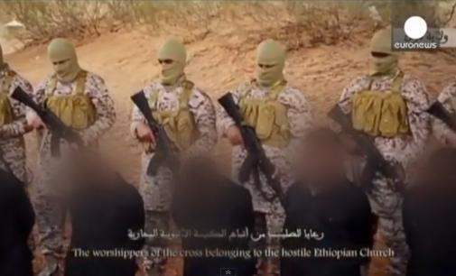 Группировка ИГИЛ опубликовала видео массового убийства христиан