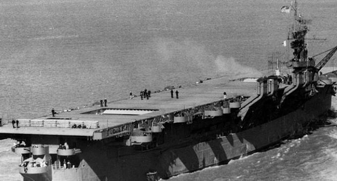У берегов США обнаружен радиоактивный авианосец времен Второй мировой