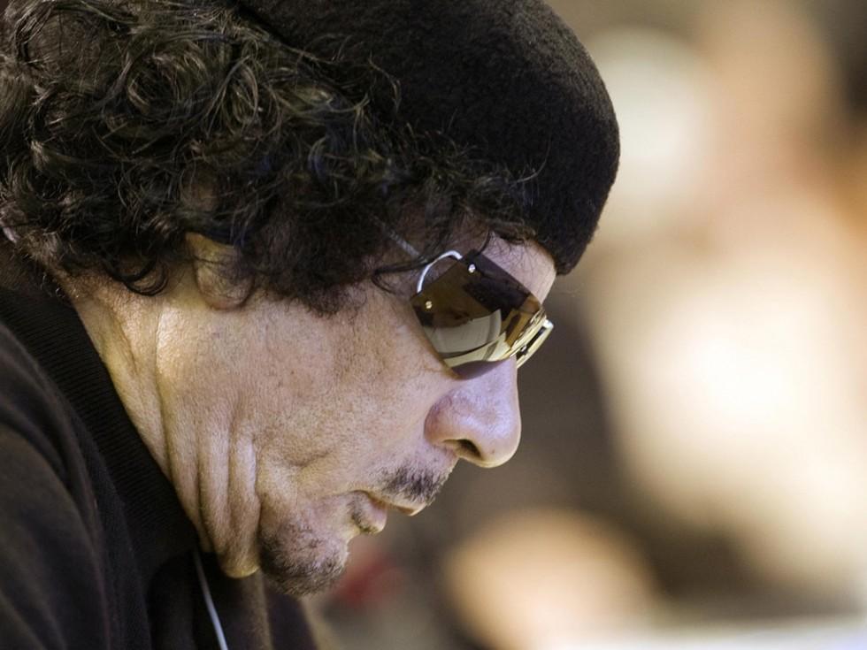 Каддафи: «Вы бомбите стену, не пропускавшую , поток африканской миграции в Европу»