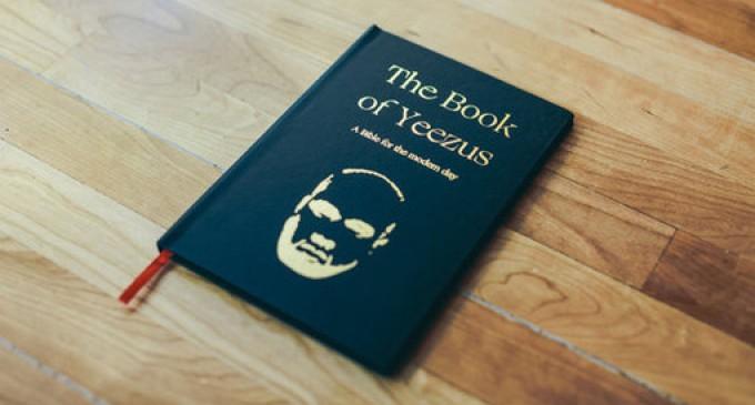 В США выпустили Библию с Канье Уэстом вместо Бога