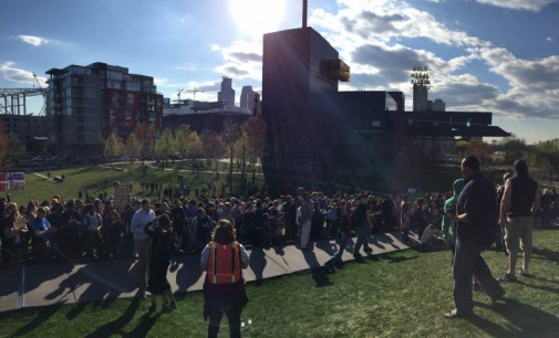 Black Lives Matter Minneapolis marches in solidarity with Baltimore