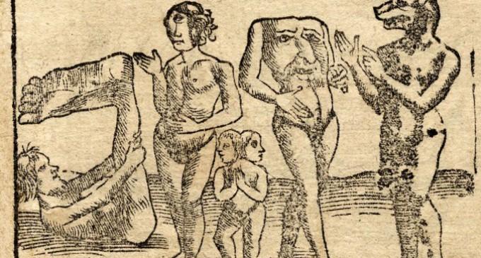 Почему древние описывали таких странных существ?