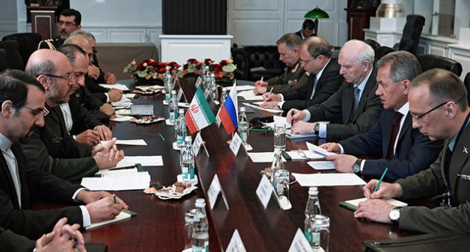 Chinese-Russian-Iranian coalition opposes NATO debut in Moscow