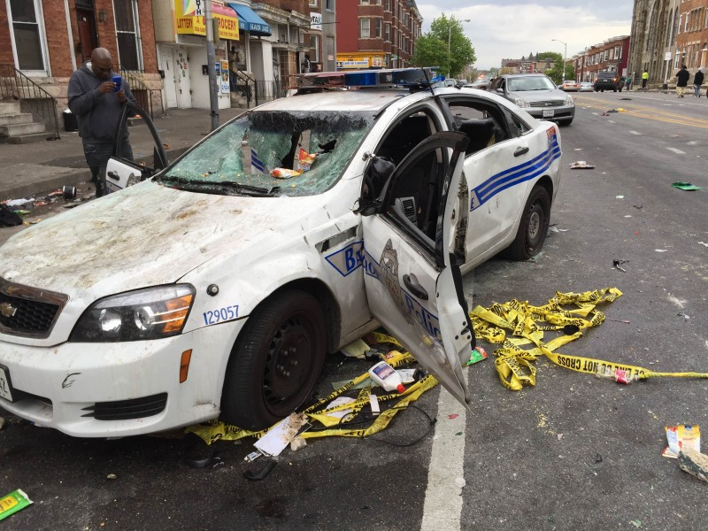Baltimore is being rocked by protests against killer cops (Fight Back! News/Staff)