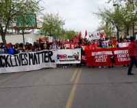 Black Lives Matter march on May 1