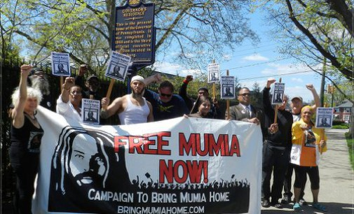 World wide pressure to stop the murder of Mumia Abu-Jamal