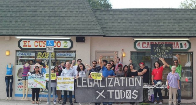 Tampa fights for immigrants rights on Father's Day
