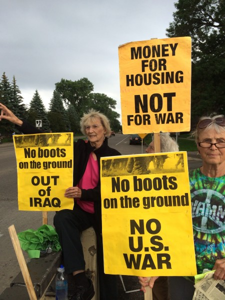 Twin Cities peace groups speak out against new U.S. escalation in Iraq