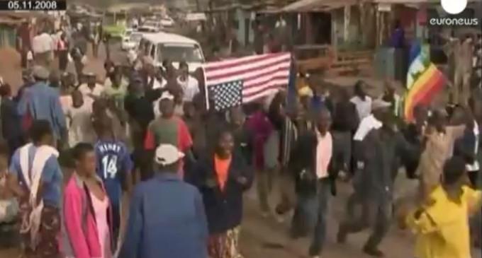 Кенийская семья Барака Обамы ждёт его в гости