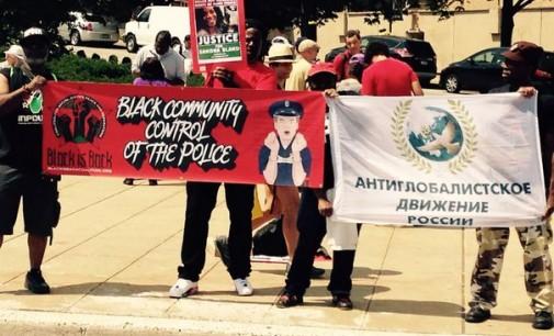 «Марш миллионов» в Нью-Джерси против полицейского произвола