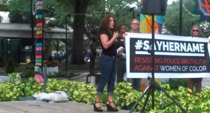 Jacksonville holds vigil for Sandra Bland