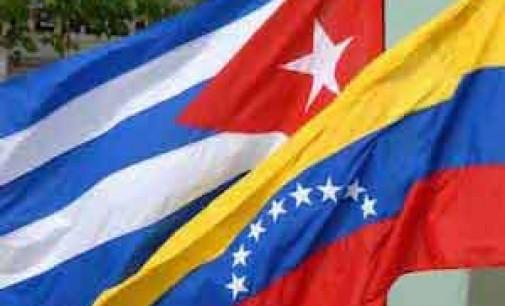 Солидарность молодёжи Венесуэлы с Кубой