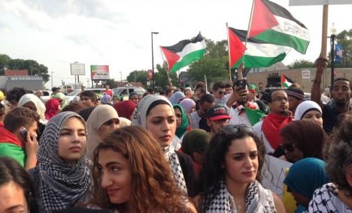 Twin Cites protest against Israeli holocaust against Gaza last year