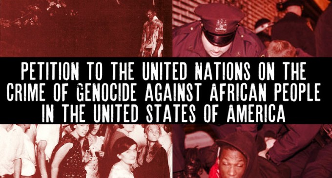 Petition on Crime of Genocide against African People in the United States