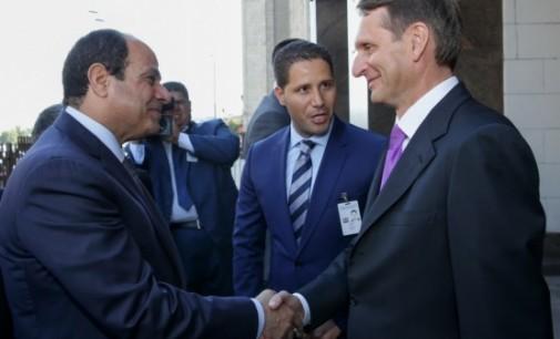 New links between Egypt an Russia