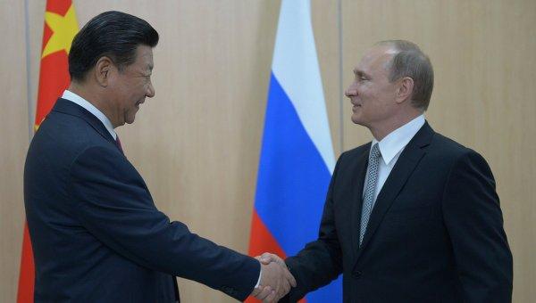 Putin's China visit