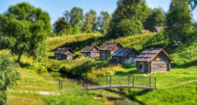 Село Вятское — самая красивая российская деревня