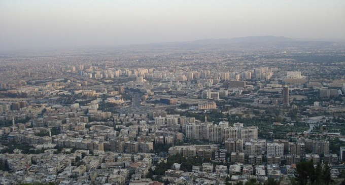 A provocation against the Russian Embassy in Damascus
