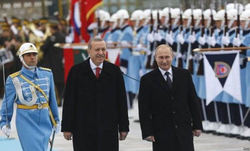Turkey opposes Russian strikes in Syria