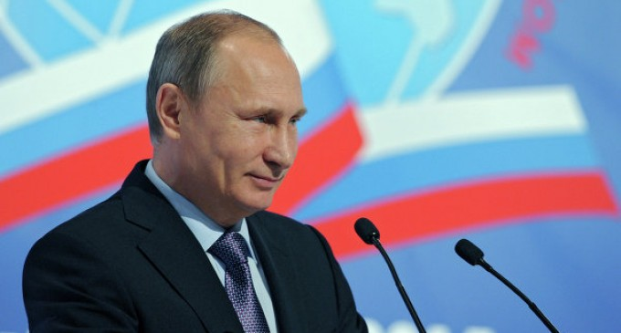 Vladimir Putin: Russia is not going to join the arms race