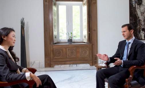 Syrian army making advances since Russian airstrikes began – Assad.