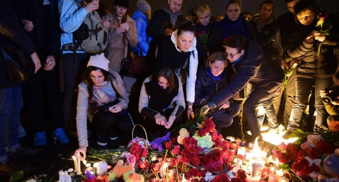 Russia still mourns over the victims of Airbus 321